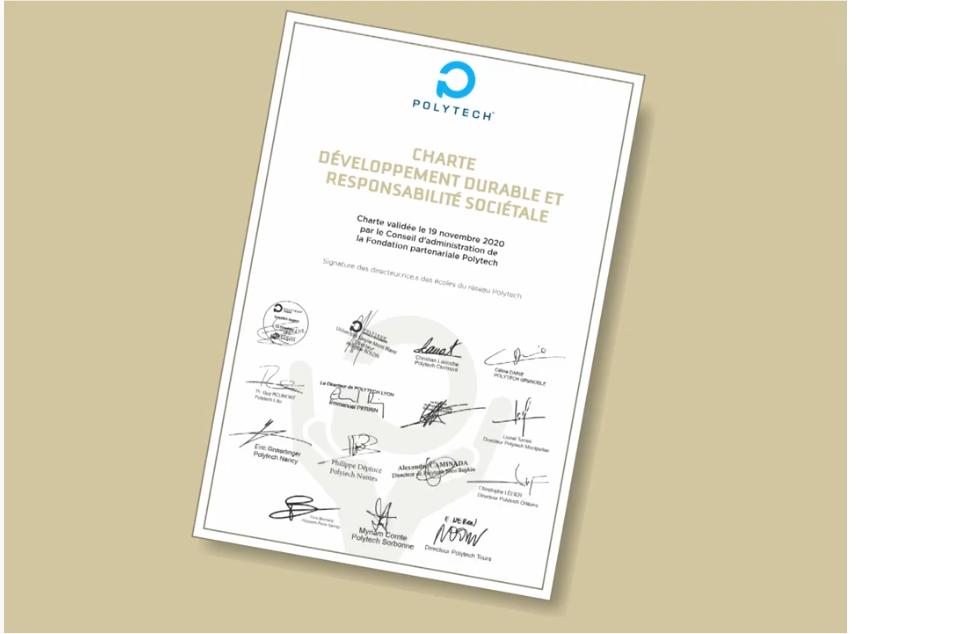 Signature charte DDRS