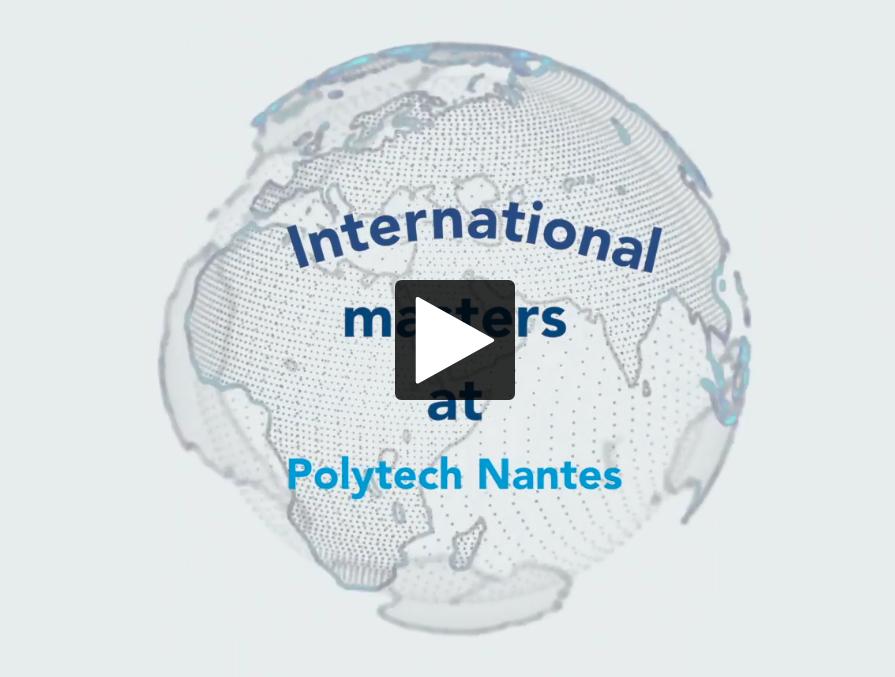 video - International master at Polytech Nantes