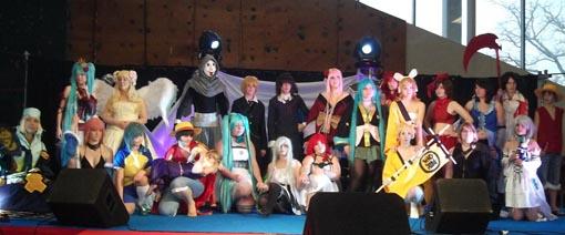 Evénement JapaNantes 2012 -  Concours de Cosplay