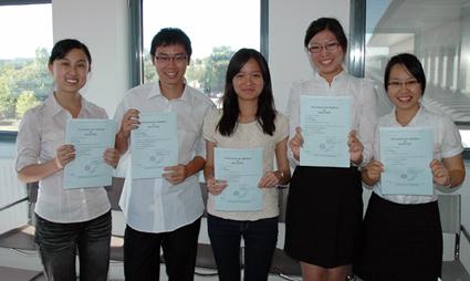 Promotion 2010 du Master hTech