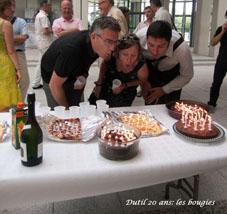 DUTIL 20 ans : les bougies