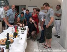 La promotion 2010 du Du Chef de projets logiciel et réseaux