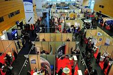 Forum Atlantique 2009 : des stands très fréquentés
