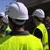 Les étudiants de Génie Civil de Polytech Nantes sur une visite de chantier
