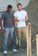 Xavier Louargant en mission d'urgence en Haïti