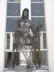Sculpture de Blaise Pascal