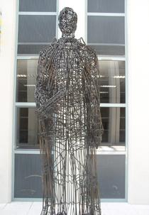 Sculpture d'Irwing Langmuir