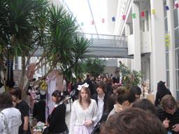 """Evénement JapaNantes 2012 - """"Rue"""" du bâtiment Ireste"""