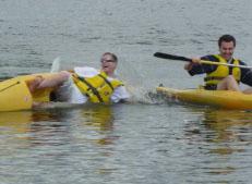 Epreuve de Kayak