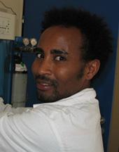 Kidan, étudiant Ethiopien