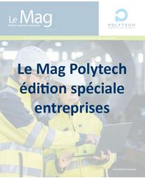 magazine réseau Polytech 2020-2021 spécial entreprises