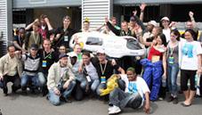 Succès de Polyjoule au Shell Eco Marathon 2009