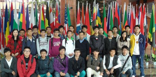 Les étudiants ayant intégré le programme 312 à la rentrée 2011