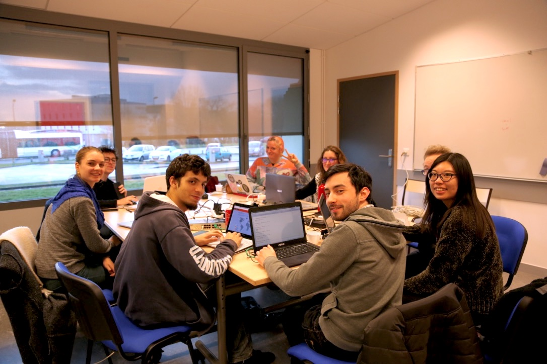 Equipe web Hylab 2017
