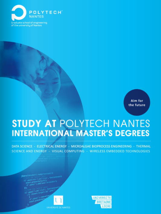 Master international Polytech Nantes