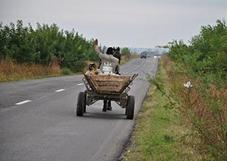 Sur les routes roumaines